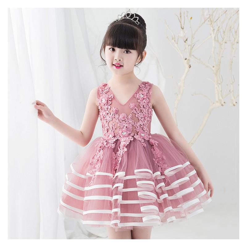 Flower girl formal dress 110-120cm