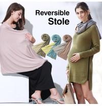 Maternity reversible stole