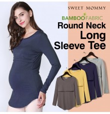 Bamboo fabric Maternity and Nursing Top