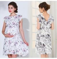 Maternity and nursing dress