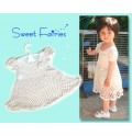 Elengant Hand Making Baby Girl Dress Ba008