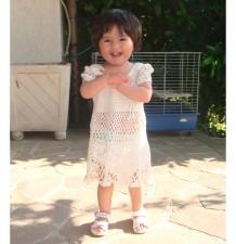 Vestitino Abitino Bambina Fatto a Mano