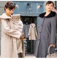Manteau maman-enfant avec insert et capuche détachables