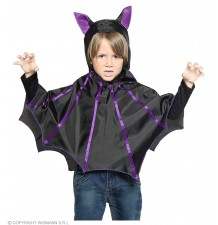 Bat poncho for children