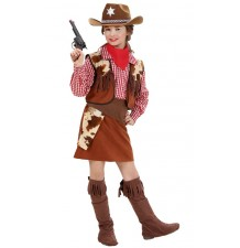 Cowgirl costume 5-13 years
