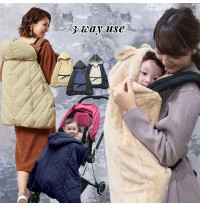 Multifunction and reversible baby stroller sack
