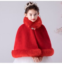 Christmas red bolero for little girl 100-160cm
