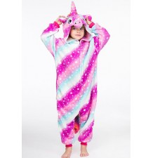 Rainbow Unicorn Costume Pyjamas 4-12 years