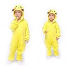Picachu Costume Pyjamas 4-12 years