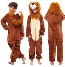 Costume pyjama de Lion 6-12 ans