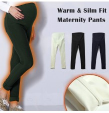 Super Warm Slim Fit Maternity Winter Pants