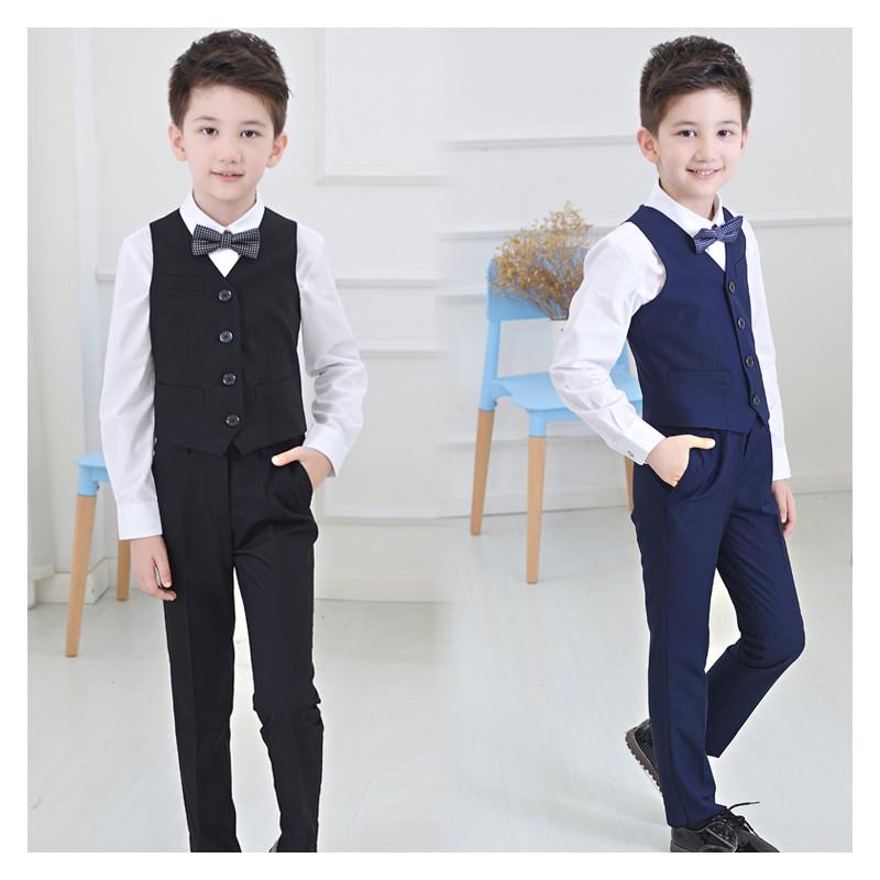 Baby boy formal suit 4 pcs 100-160 cm