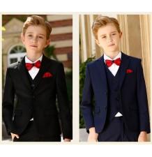 Boy formal suit 8 pcs 90-175 cm