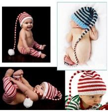 Cappellino Bambini Festa Carnevale Fatto a Uncinetto