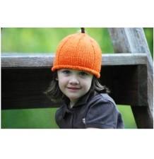 Handmade Halloween Pumpkin Bonnet For Kids