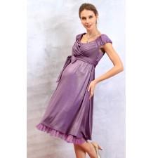 """Robe de grossesse de cérémonie effet lamé """"Charlotte"""""""