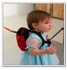 Kid Keeper Safety Harness With Backpack model Ladybug