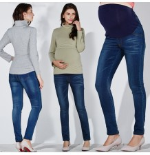 Jeans de grossesse coupe skinny
