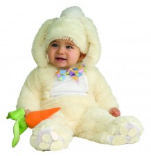 Costume Coniglietto Bianco unisex 6-18 mesi