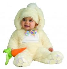 Costume de Lapin Blanc unisexe 6-18 mois