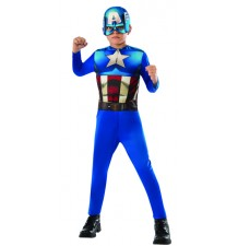 Captain America Costume 3-8 years