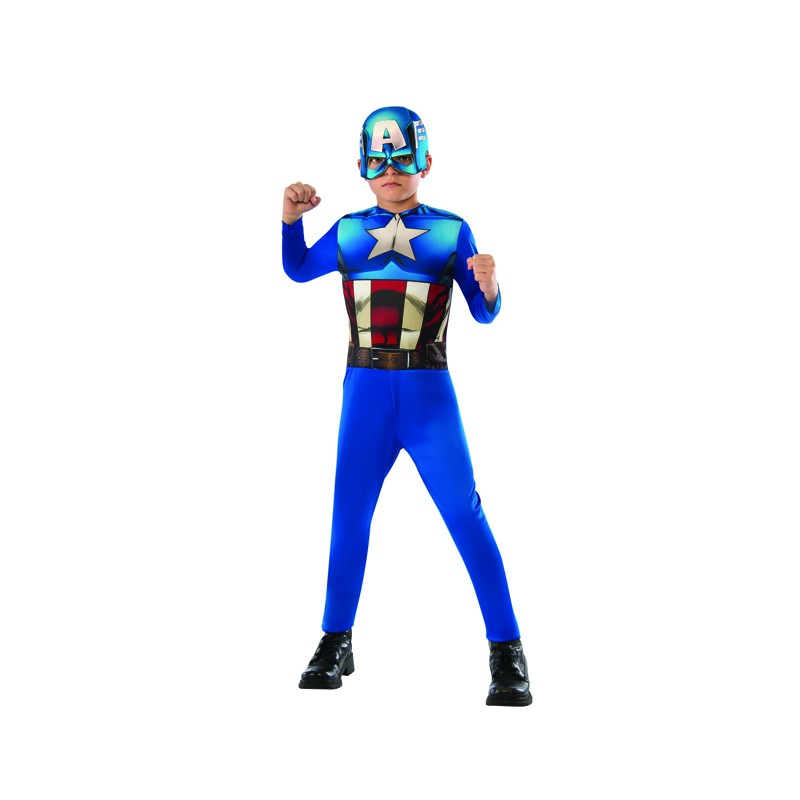Costume de Captain America 3-8 ans