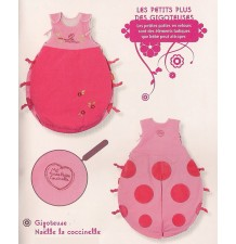 "Baby Sleeping Bag ""Ladybird"""