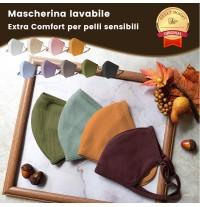 Extra Comfort Washable Mask for sensitive skins