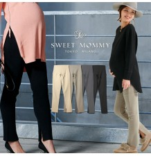 Adjustable Waist Warm Maternity Trousers