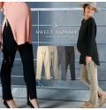 Pantaloni invernali premaman a vita regolabile