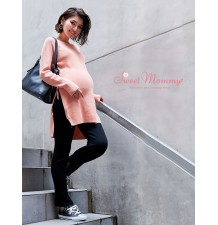 Pantalon Hiver Grossesse à Tour de taille réglable