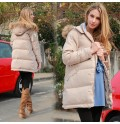 Sample Sale - Down mother coat with detachable fur hood