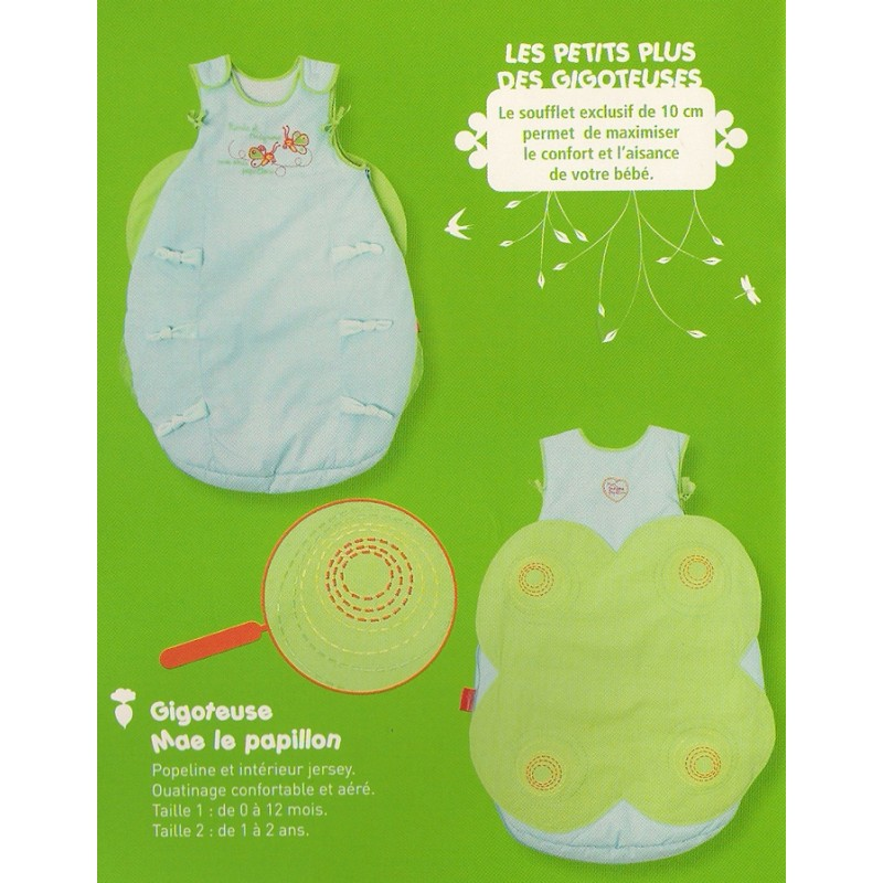 "Baby Sleeping Bag ""Butterfly"""