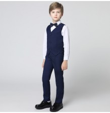Boy formal suit 4 pcs 100-160 cm