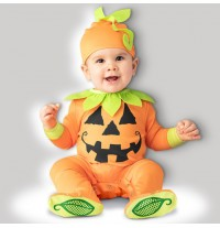 Incharacter Halloween Jack-O-Lantern Costume 0-24 months