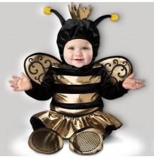 Costume Carnevale Ape Regina Incharacter 0-24 mesi