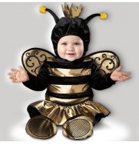 Incharacter Carnival Halloween Baby Queen Bee Costume 0-24 months