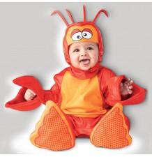 Incharacter Costume de Carnaval Enfant Homard adorable 0-2 ans