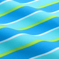 Blue and turquoise stripes