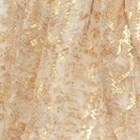 Foil Print Gold