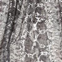 Foil Print Grey