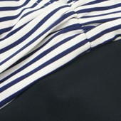 Black + Navy Stripes