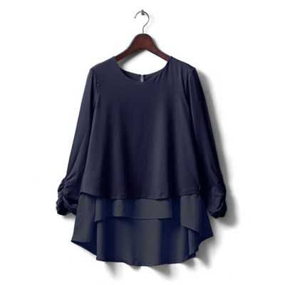 Navy - long sleeves