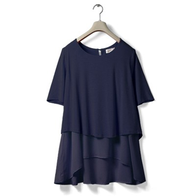 Navy - half sleeves
