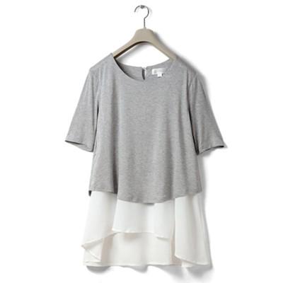 Melange grey - half sleeves