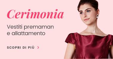 ac51fffa197d In Vetrina  Nuovi arrivi. Jacquard Vestito Cerimonia Premaman ...
